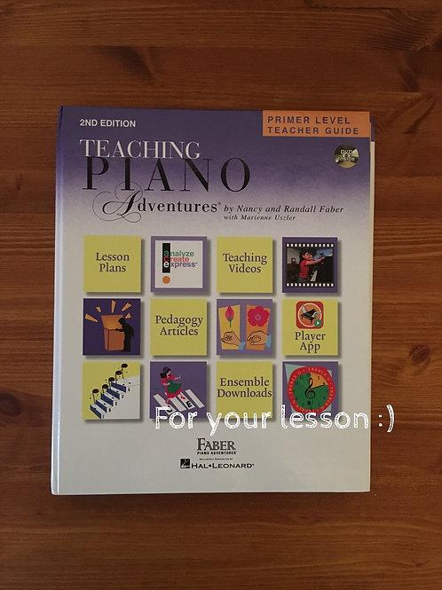 Teaching Piano Adventure