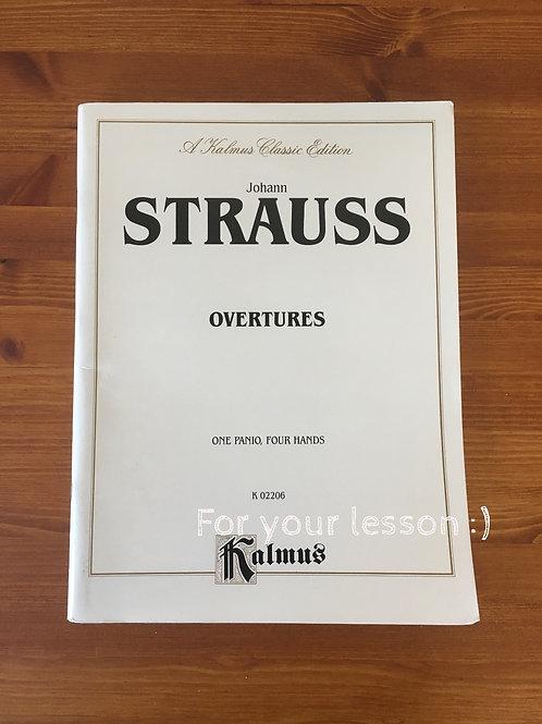 Overtures By Johann Strauss Jr.