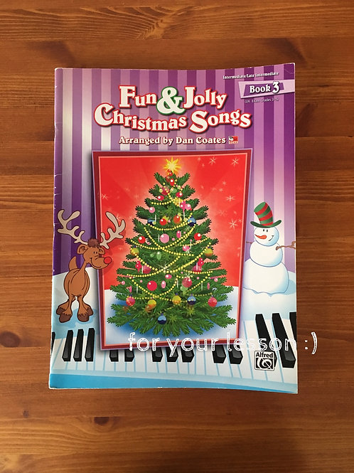Fun and Jolly Christmas Songs : Book 4