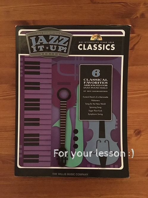 Eric Baumgartner's Jazz It Up! - Classics By Eric Baumgartner