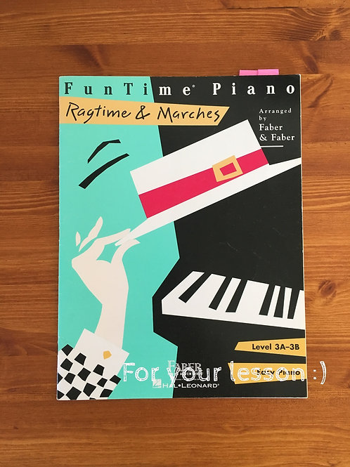 FunTime Ragtime & Marches Level 3A-3B
