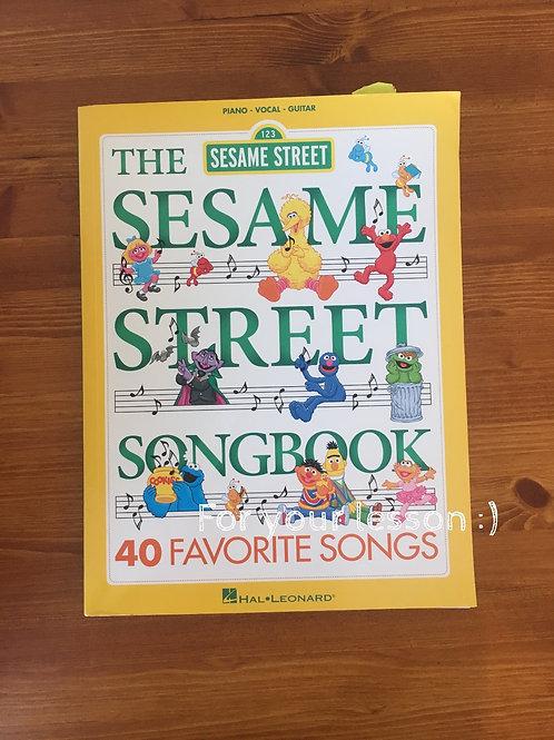 the Sesame Street Song Book