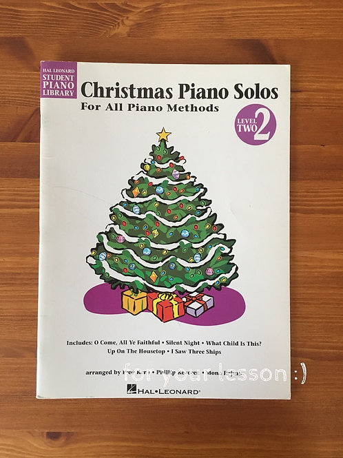 Christmas Piano Solos : Level 2