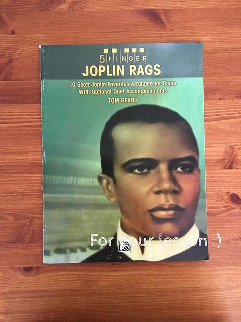 5 fingers Joplin Rags