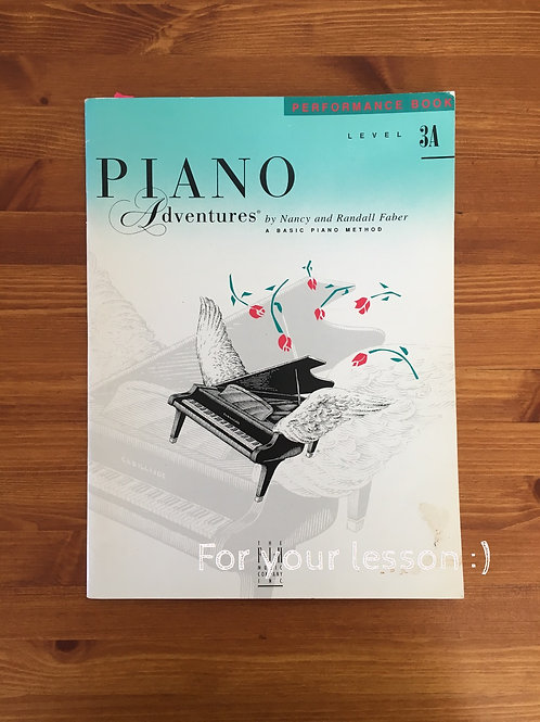Piano Adventures Performance 3A