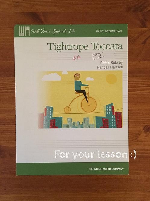 Tightrope Toccata ByRandall Hartsell