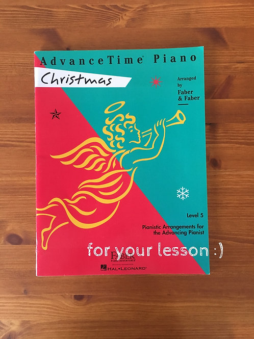 Advanced Time Piano Christmas Level 5