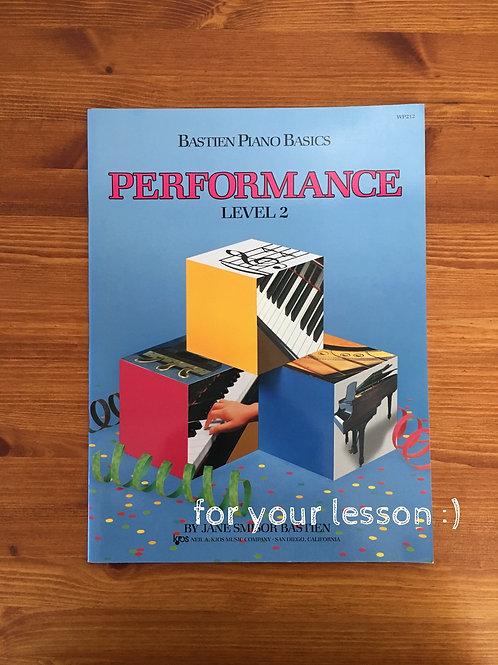Performance Level 2