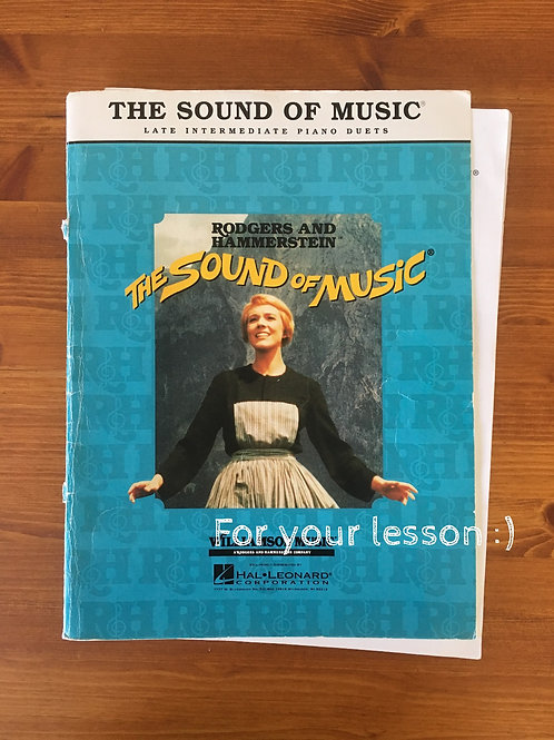 The Sound of Music - Piano Selection
