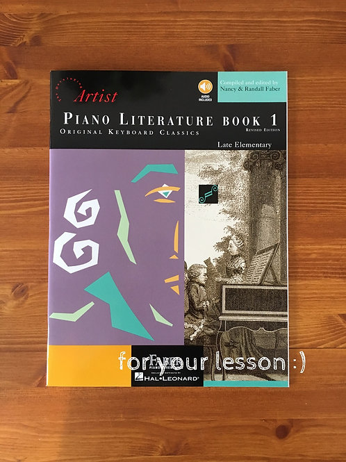 Piano Literature Book1