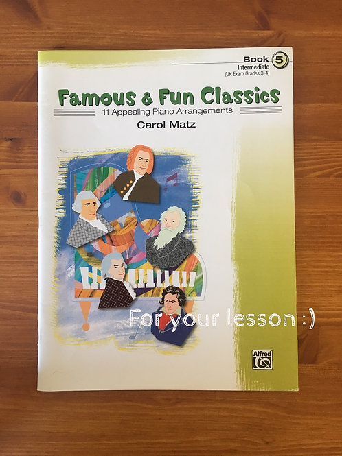 Famous & Fun Classics, Book 5