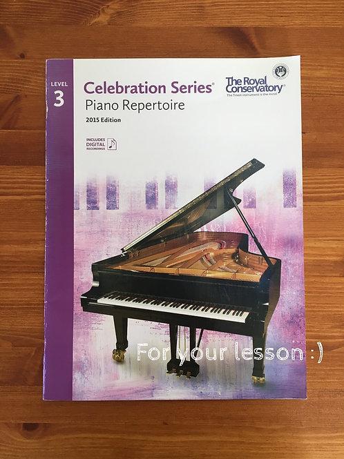 Piano Repertoire 3 Celebration Series