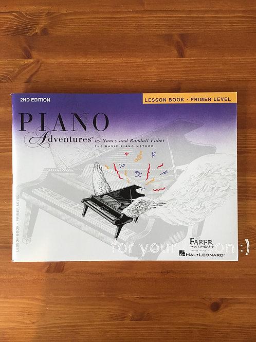 Faber Piano Adventure : Lesson Book Premier Level