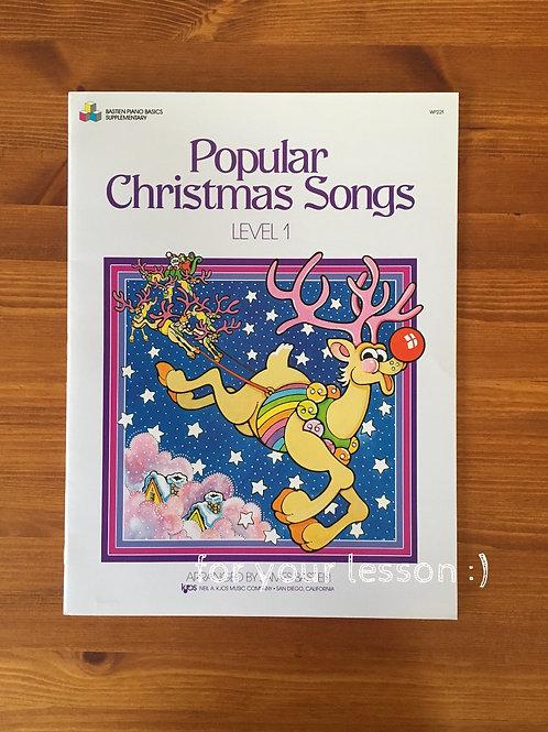 Popular Christmas Songs : Level 1