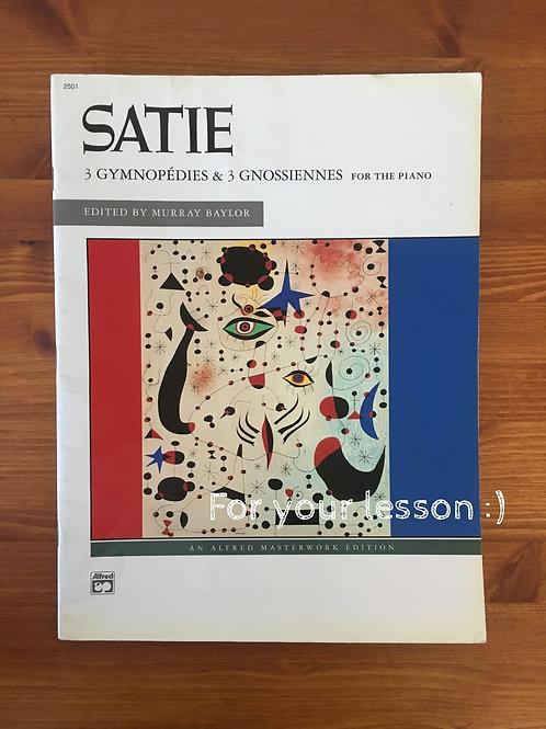 3 Gymnopedies & 3 Gnossiennes By Erik Satie