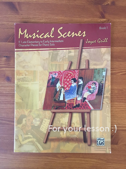 Musical Scenes and Episodes, Book 1
