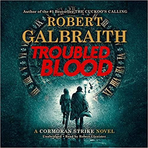 troubled blood audio book