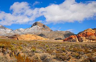 Turtle Head Peak, Red Rock Conservation Area