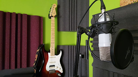 Estudio de grabación de música original para cine y televisión de Fernando García Munera (Munerasong)