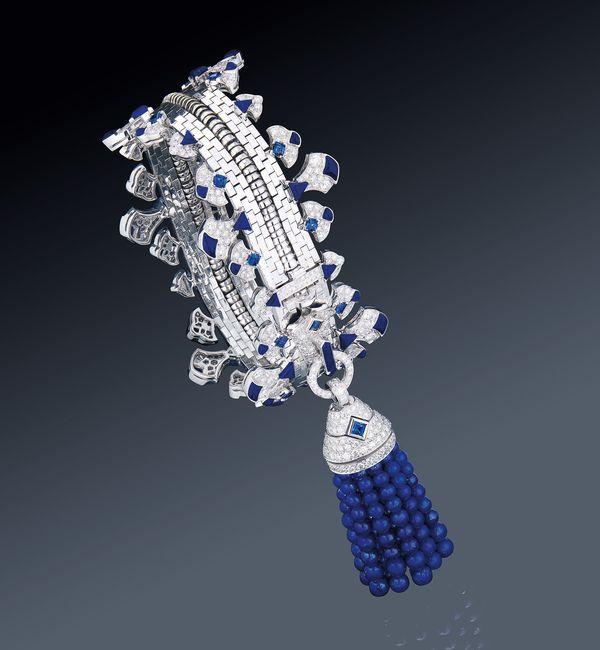Diamond zip bracelet from Van Cleef