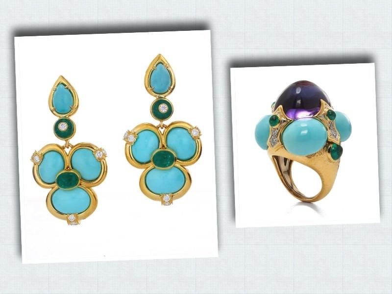 Helen Mirren's David Webb jewelry