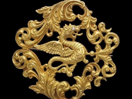 A history of dragons in jewelry
