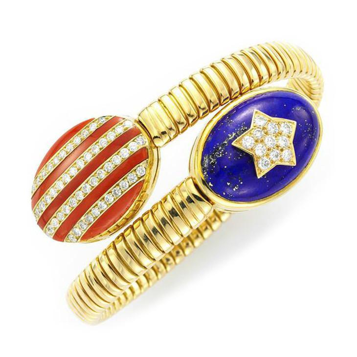 Bulgari Stars & Stripes Bracelet