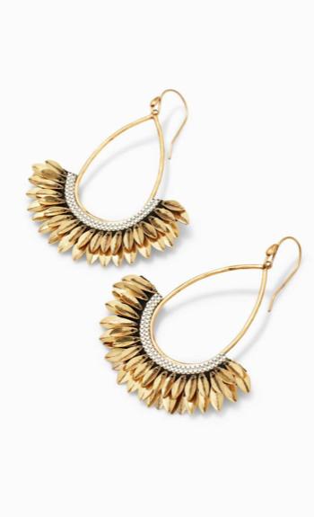 Pegasus earrings from Stella & Dot