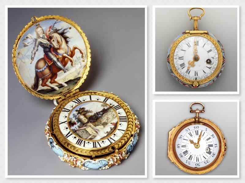 Pocket watches, c. 1600's - 1700's