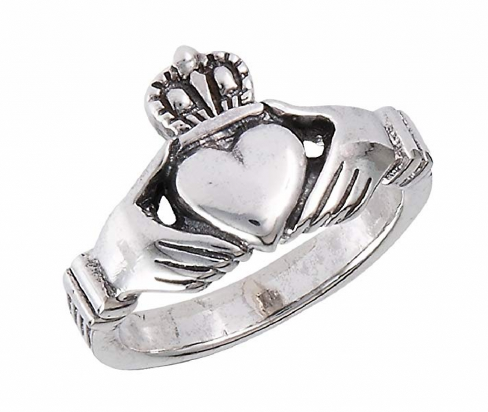 Claddagh ring from Amazon