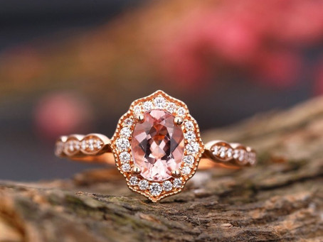 Morganite and other engagement ring trends