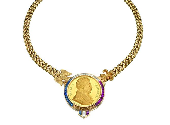 Bulgari necklace General Lafayette