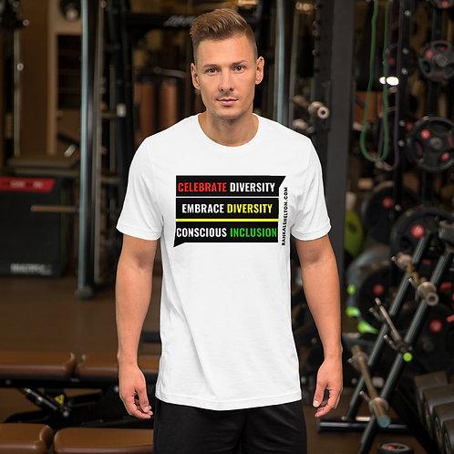 Diversity Inclusion Short-Sleeve Unisex T-Shirt