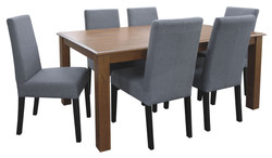 FC - Kendal 1600 + T-Bar-Dark Grey chairs