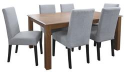 FC -  Kendal 160 + T-Bar Light Grey chairs