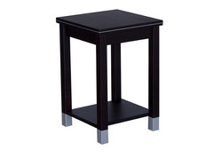 CW - Veniece Side Table with Shelf - nz made - available in multiple colours & a variety