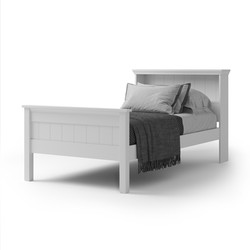 CW - Adventure S or KS Bookcase High Foot Bed - NZ made - available in multiple colours