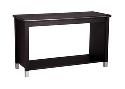 CW - Veniece hall table with rack - nz made - available in multiple colours & a variety of