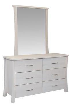 CW - Hudson 6 drawer dresser