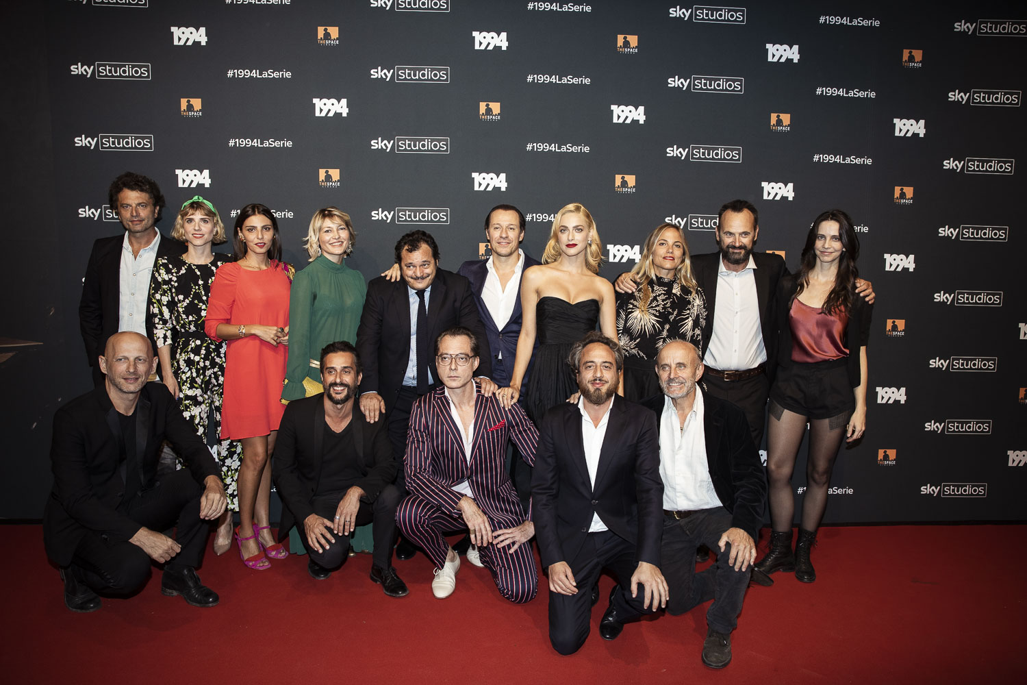 "The cast of ""1994"""