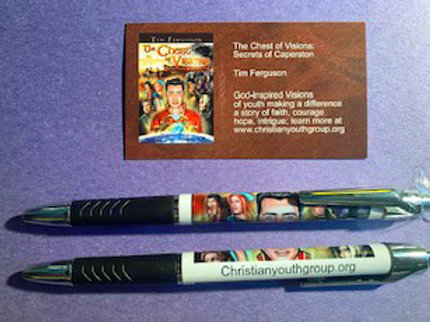 The Chest of Visions Commemorative Pen