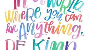 Hello Friday: Be Kind