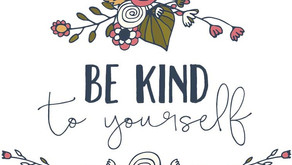 Hello Friday: Be Kind to Yourself