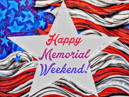 Hello Friday: Memorial Weekend