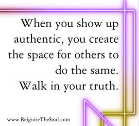 Monday Motivation - Walk in Your Truth