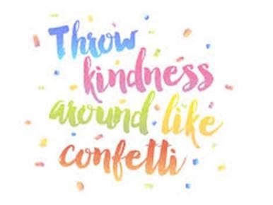 Hello Friday - Throw Kindness Around Like Confetti