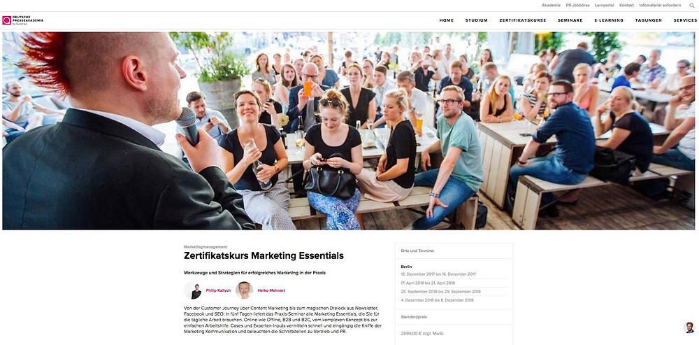 Marketing Essentials Philip Kalisch Depak