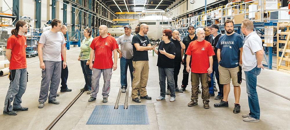 IG Metall Team Building Segeltrip BR kompakt Reihe