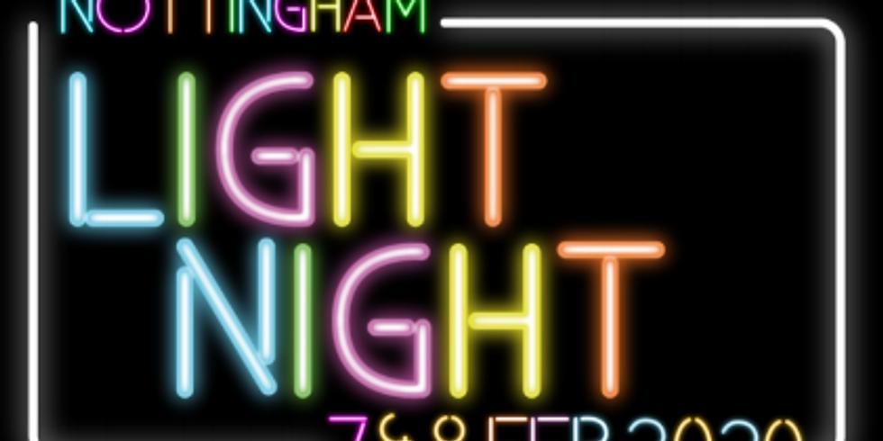 Nottingham Light Night