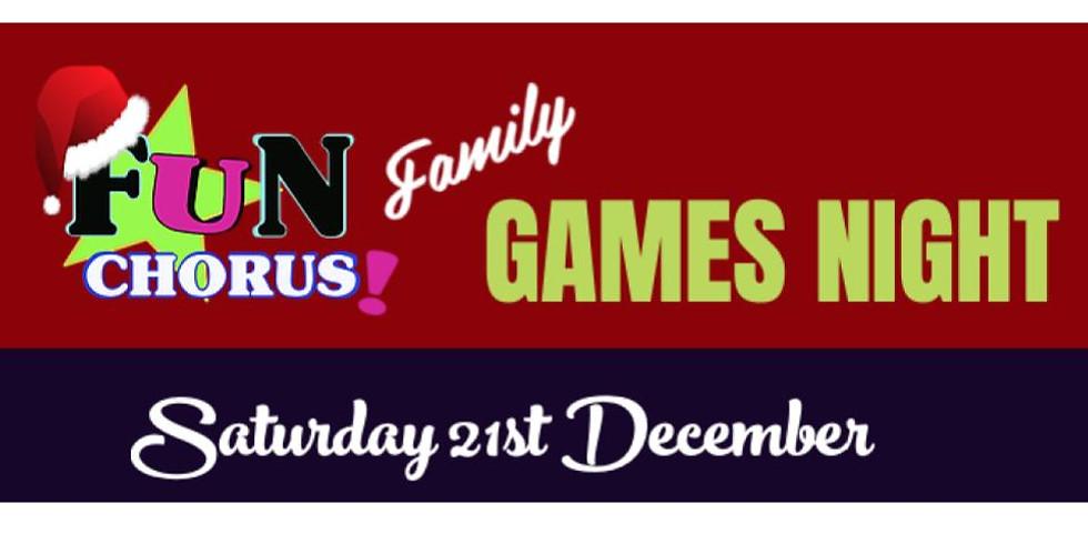 Fun Chorus Christmas Games Night